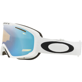 Oakley O Frame 2.0 Pro XM Gogle zimowe Kobiety, matte white/hi yellow iridium&dark grey